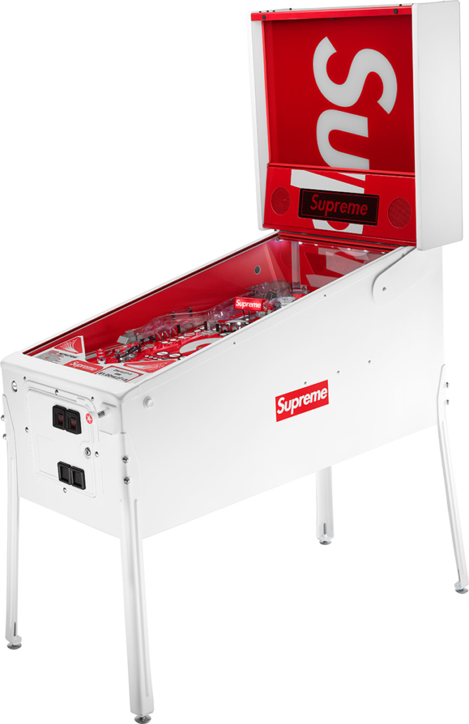 The Supreme/Stern Pinball Machine is the most expensive accessory released