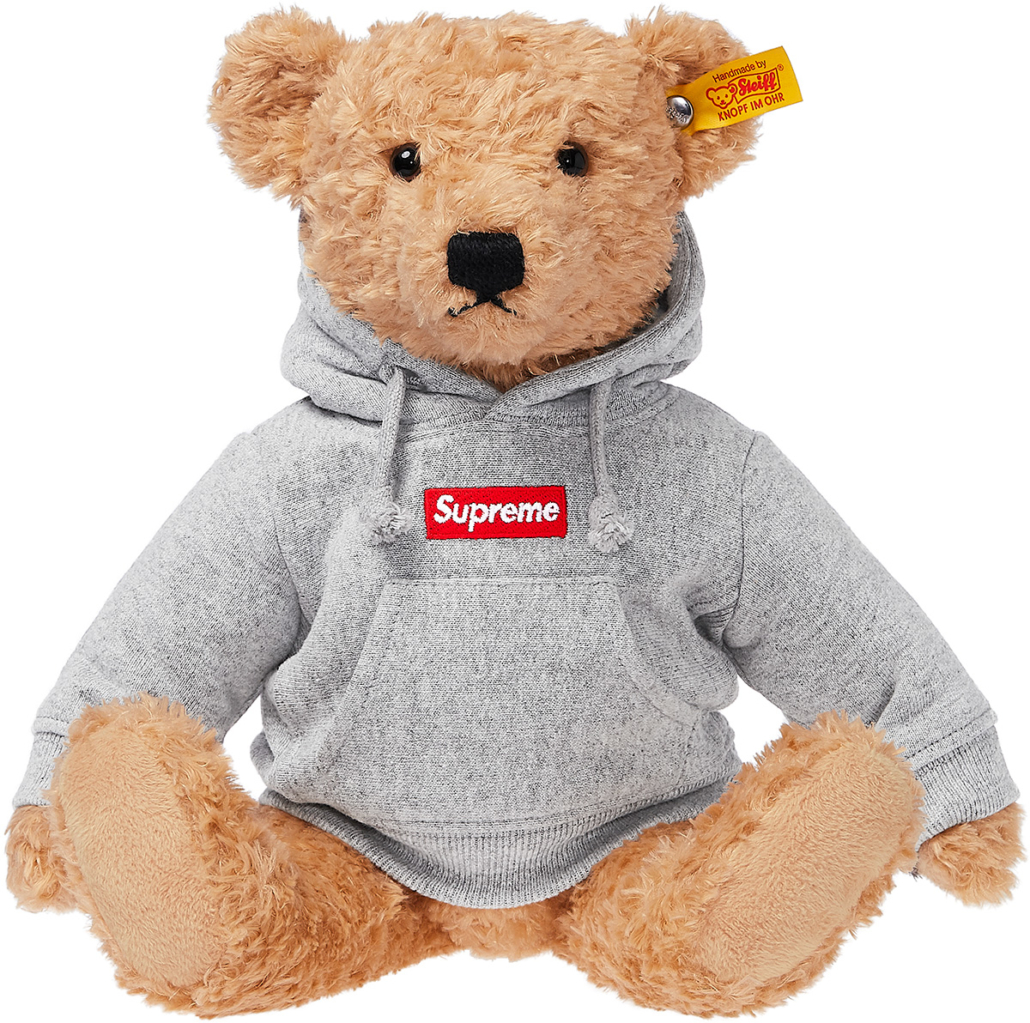 The Supreme/Steiff Teddy Bear is a future collectable item