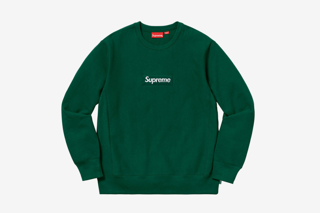 Supreme's newest release of their iconic Box Logo
