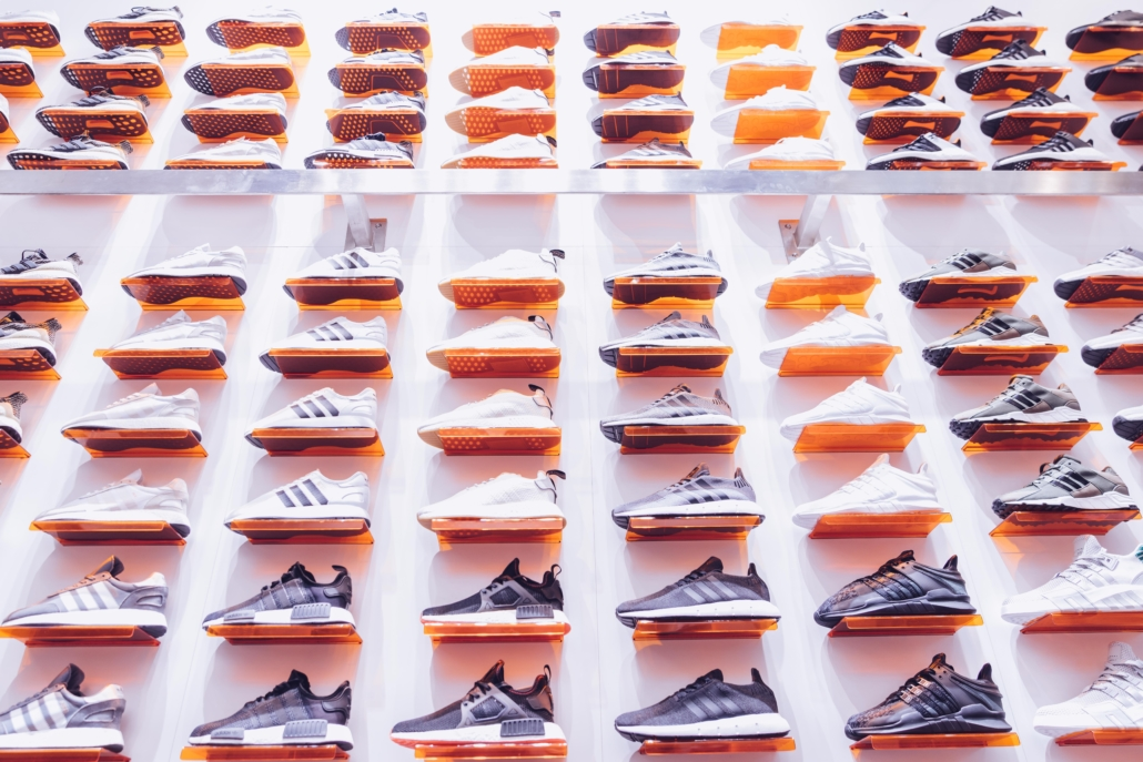Storing sneakers in a cool, dark place will stop sunlight damage
