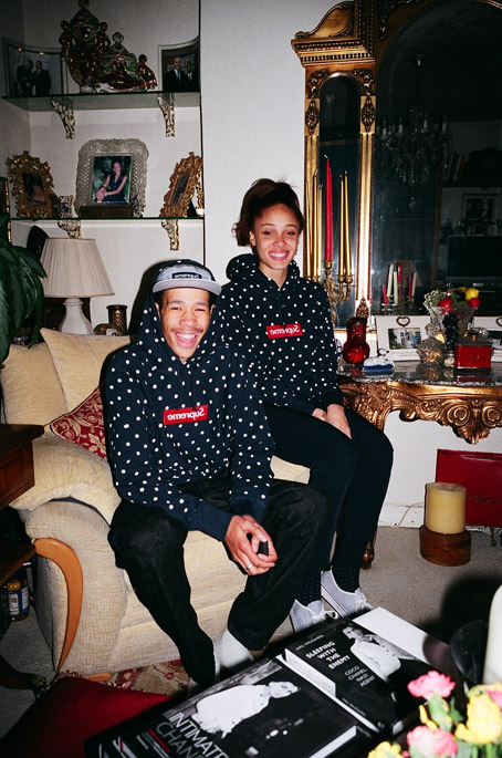 Supreme X COMME des GARCONS SHIRT first collaborated in 2012