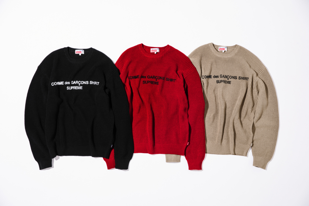 Supreme items release in multiple colourways